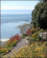 Sooke Harbor House - Vancouver Island, BC - Edible Gardens