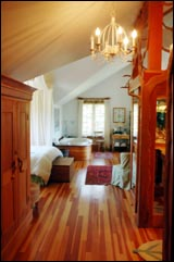 Sooke Harbor House - Vancouver Island, BC - Suite Interior