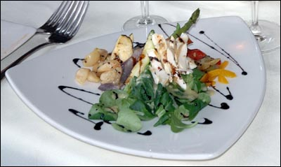 Chrysalis Inn and Spa in Bellingham, WA - designer gourmet food presentation