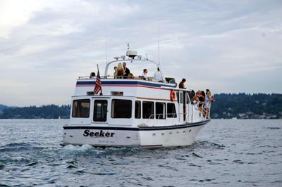 Charter Boat on Lake Washington - MV Seeker