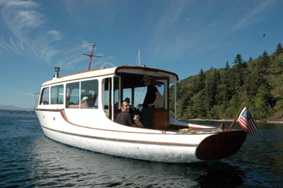 Charter Boat on Puget Sound - MV Allure