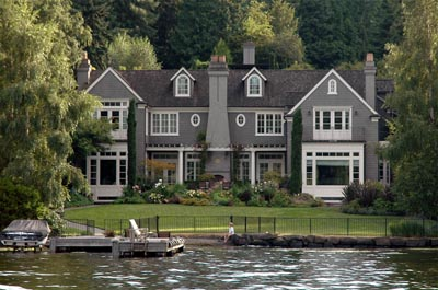 Lake Washington Waterfront Mansion