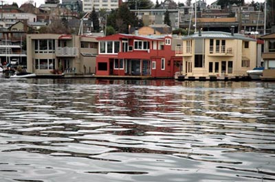 Seattle Floating Home Houseboat